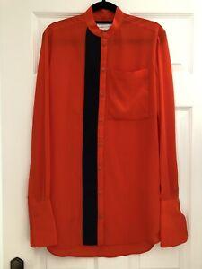 Victoria Beckham VVB Silk CDC Shirt size 8