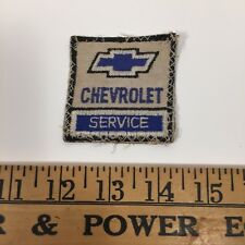 Chevrolet Patch Embroidered , Vintage Rare Chevy Service Patch - workwear