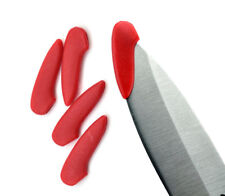 3PCS Red Knife Blade Cover Plastic Protection Tip Protect Accessories Tool
