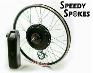 "26"" 28"" 29"" 1000W 48V Rear Wheel Electric Bike Kit Ebike BATTERY INCLUDED"