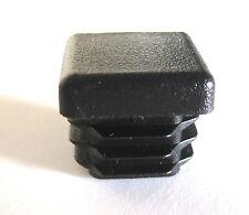 "8 - 3/4"" Square Tubing Plastic Plug 3/4 Inch End Cap Cover Insert Pipe .75"" Bar"