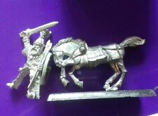 Mounted Barbarian raider Tribesman norse warrior & horse mount citadel gw #B