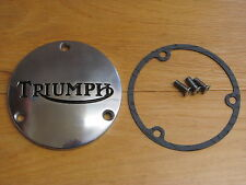 57-2440 TRIUMPH T120 TR6 1968-72 CHAINCASE ROTOR COVER WITH GASKET & SCREWS