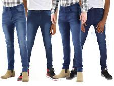 Mens Slim Fit Jeans Super Stretch Denim Pants Slim Skinny Casual Jeans Designer