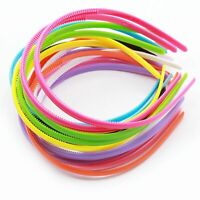 Alice Headband Clips 5 Pack 8 - 10mm Girls Womens Hair Bands Back To School