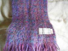 Joan Doherty weaver,  wool/viscose  scarf