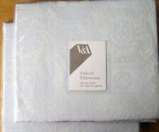 V&A Oxford Pillowcase PAIR New KAZARI SKY