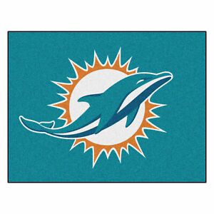 "Fanmats NFL Miami Dolphins Rookie Mat Area Rug Bath Mat 20""x 30"""