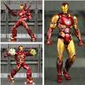 "Marvel S.H.Figuarts 6"" Iron Man MK50 MK85 Action Figure Ironman Mark 50 85 Tony"