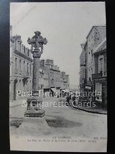 LE TREPORT - La Rue de Paris et la Croix de Gres, Old PC by Neurdein  140515