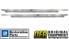 OER 1962-67 Chevy II Nova Licensed GM Restoration Riveted Sill Scuff Plates Pair