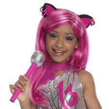 Monster High Girls Catty Noir Halloween Wig