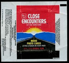 Close Encounters Of The Third Kind, Advert 2, Trading Cards Wrapper #W26
