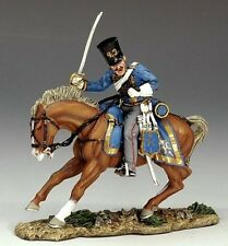 King & Country CRW019 Crimean Mounted Russian Hussar Charging - Crimean War