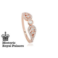 Welsh Clogau 18ct Rose Gold Royal Crown Ring **SAVE 50% OFF RRP £2200** SIZE J