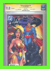 Superman/Batman #8 CGC 9.8 SS 3rd Print Micheal Turner VHTF!
