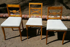 3 Biedermeier Side Chairs from Lief Scandinavian Antiques in Los Angeles