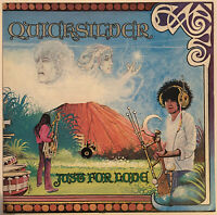 QUICKSILVER MESSENGER SERVICE JUST FOR LOVE LP CAPITOL USA PRESS PRO CLEANED