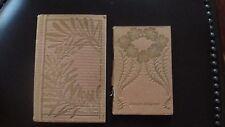 2 Livres anciens rares 1900 contes pour enfants planches dessins Art Nouveau.