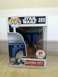 Funko Pop Star Wars Jango Fett #285 Walgreens Exclusive Jetpack