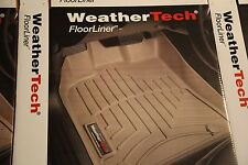 WeatherTech Floor Mat FloorLiner - Ford F-150 - 2010-2014 - 1st Row - Black