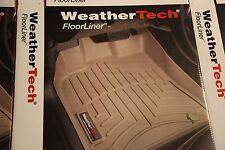 WeatherTech Floor Mat FloorLiner  Ford F-150  2010-2014 1st Row  Black