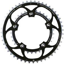 TA Zephyr 110 BCD Outer  Double Road Bike 44t Chainring In Black