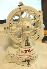 Avon Porcelain FERRIS WHEEL Wind Up Musical 5 Car PLAYS ...  Oh Christmas Tree
