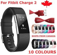 For Fitbit Charge 2 Band Replacement Sports Watch Strap Wristband Small Large