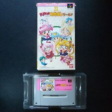 PANIC IN NAKAYOSHI WORLD Nintendo Super Famicom NTSC JAPAN・❀・SAILORMOON なかよしワールド