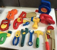 Huge Little Tikes workbench Power Hand Tools Vintage Lot Pretend Play