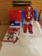 Transformers BadCube OTS-09 Grump G1 Gears Opened 100% Complete