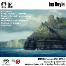 Ina Boyle - Violin Concerto/Overture//Symphony No. 1/Psalm/A Sea Poem - CDLX7352