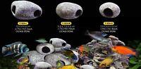 Cichlid Stones Aquarium Ceramic Ornament Rock Cave Breeding Decoration for Fish