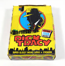 1990 Topps Dick Tracy Movie Trading Card Box 36 Packs