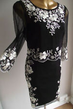 Monsoon Polyester Dresses for Women with Embroidered