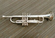 GETZEN CAPRI SILVER PLATED TRUMPET WITH CASE