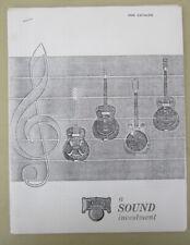 Photocopy - 1966 DOBRO CATALOG