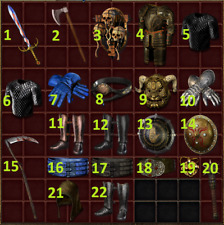 Diablo 2 Resurrected D2R - Bundle   Reapers Toll, Goldwrap, Peasant Crown, etc.