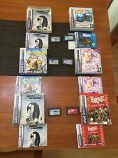 lote 6 juegos game boy Advance