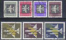 DDR 609-15 Flugpostmarken komplett,  sauber gestempel