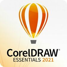 CorelDRAW Essentials 2021 64Bit  Mehrsprachig, 1 PC Corel DE EU