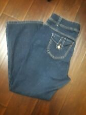 5fe341f1037 Just My Size JMS Women s Jeans 16W Average Classic Low Rise Boot cut Stretch