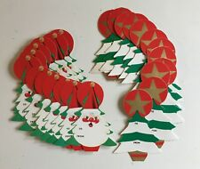 Vintage Christmas 50's/60's Gift & Card Tags - 24 Pc - NOS Warehouse Stock
