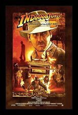 INDIANA JONE RAIDER OF THE LOST ARK framed movie poster 11x17 Quality Wood Frame