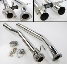 """2.5"""" EXHAUST SYSTEM MID PIPE HONDA CIVIC TYPE R EP3 2.0 NON RES 2000-2007"""