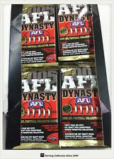2005 Select AFL Dynasty Trading Cards Sealed Loose Packs Unit of 4--packs