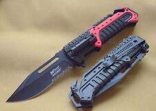 MTA933RD Couteau de la Sécurité Civile Torche Mtech Ballistic A/O Carbone Brise