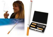 Deluxe Electronic Rechargeable Cigarette Full  Kit Vaporiser Cartridge USB Case