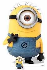 Carl Minion Despicable Me 3 Minions Lifesize and Mini Cardboard Cutout / Standup